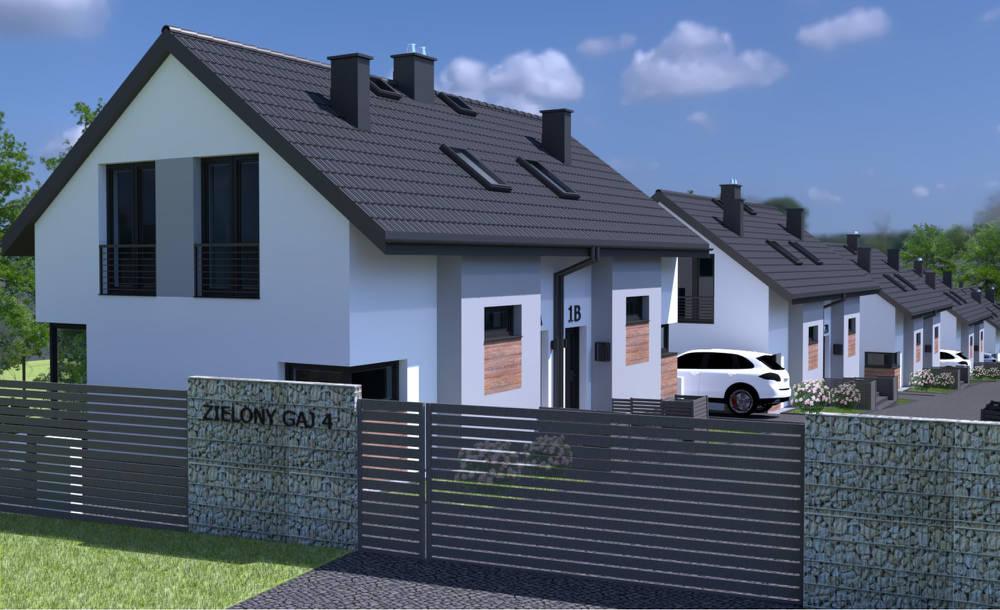 wizualizacja domów w etapie 1 zielony gaj 4