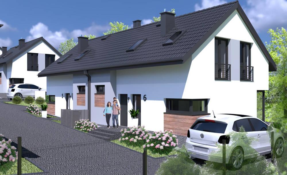 wizualizacja domów w etapie 2 zielony gaj 4